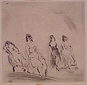 Women in a Bordello