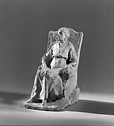 Lachaise's Mother Resting (Marie Lachaise in Armchair)