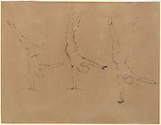 Three Studies of an Acrobat