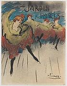 Jardin de Paris (Design for a Poster)