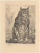 Cat, from <i>Picasso: Original Etchings for the Texts of Buffon</i>