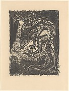 Lizard, from <i>Picasso: Original Etchings for the Texts of Buffon</i>