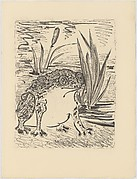 Toad, from <i>Picasso: Original Etchings for the Texts of Buffon</i>