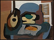 Still Life with Mandolin and Galette