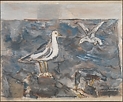 Sea and Gulls
