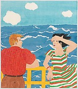 Conversation on a Boat Deck