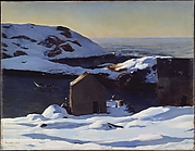 Winter, Monhegan Island