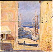 View of The Old Port, Saint-Tropez
