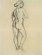 Standing Nude