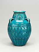 Three-handle jar
