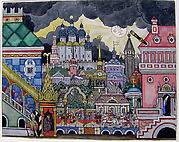 City Scene (Stage Design)