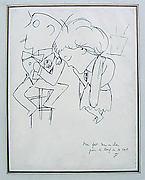 Couple at Le Boeuf sur le Toit