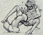 Untitled (erotic scene)