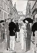The Rue de Paris, Trouville