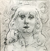 Untitled (woman's head)
