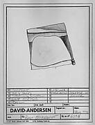 Design for Brooch #6038