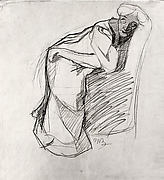 Woman Leaning on a Chair (The Artist&#39;s Sister)