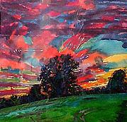 Serena, Sunset, Monumental Tree Series, Westbury
