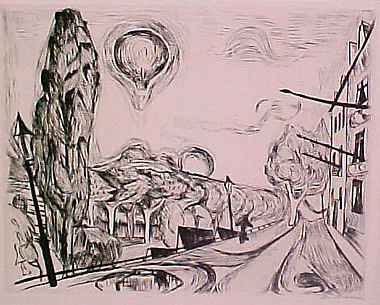 Landscape with a Balloon