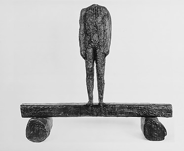 Figure on a Trunk