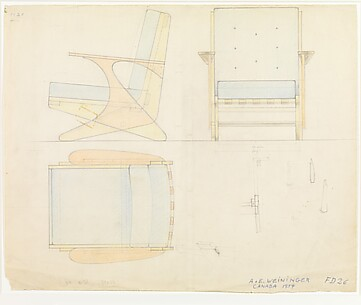 Design for an Armchair