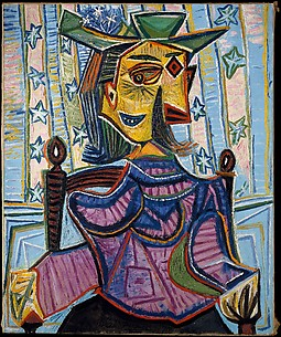 Dora Maar in an Armchair