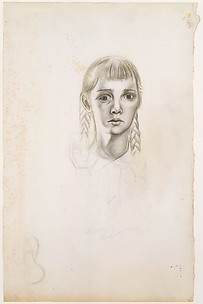 Untitled (Girl with Braids)