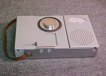 Portable Record Player/Radio Combination (Model TP1)