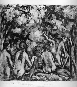 Nudes in a Forest