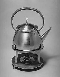 Tea kettle and stand