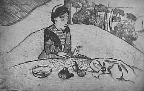Woman with Figs