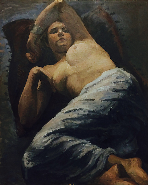 Reclining Figure by Jean Marchand