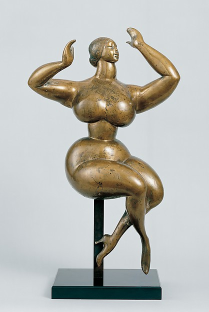 Nude Woman with Upraised Arms