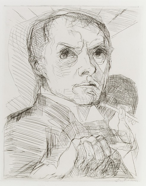 Self-Portrait with a Stylus