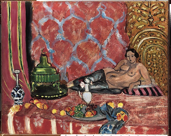Odalisque with Gray Trousers