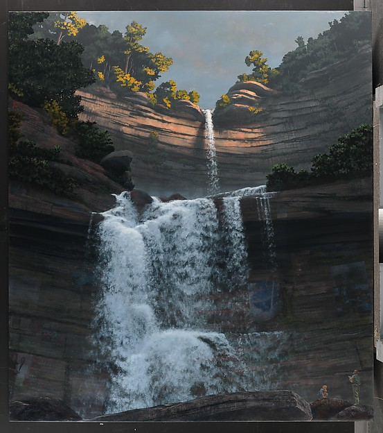 Kaaterskill Falls for Frank Moore and Dan Hodermarsky (Mass MoCA #11)