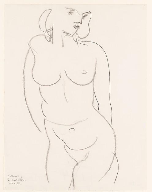 Nude, Torso (Claude)