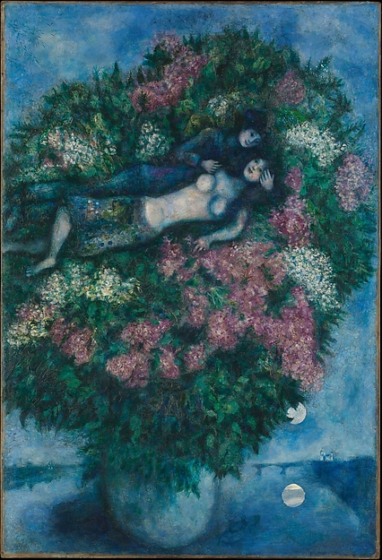 Lovers Among Lilacs