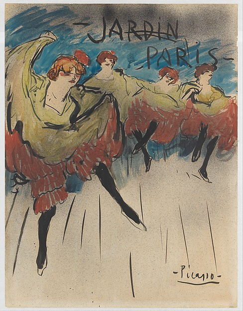 Jardin de Paris (Design for a Poster)