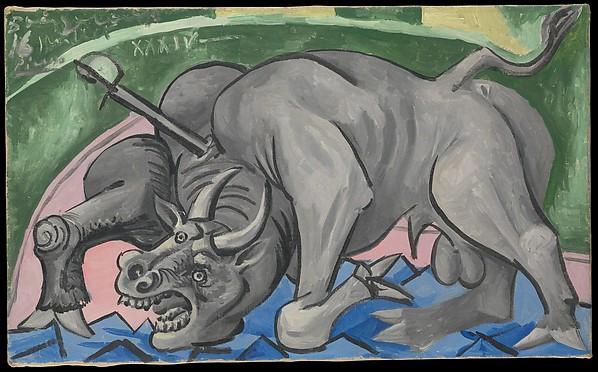 Dying Bull