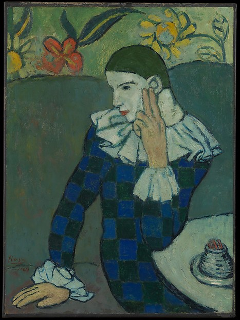 Pablo Picasso Seated Harlequin The Met