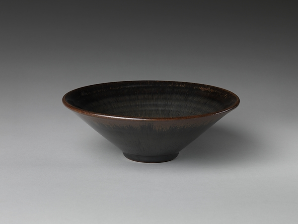 "Bowl with ""Hare's-Fur"" Glaze"