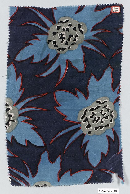 """Indigo"" Textile Sample"