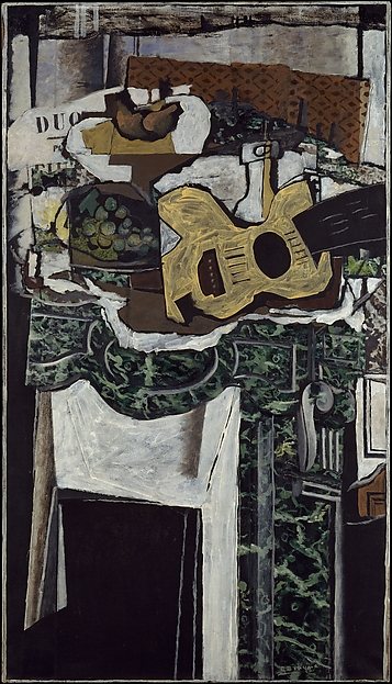 Guitar and Still Life on a Mantelpiece