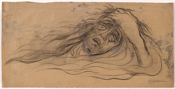 "Study for ""Mourning"""