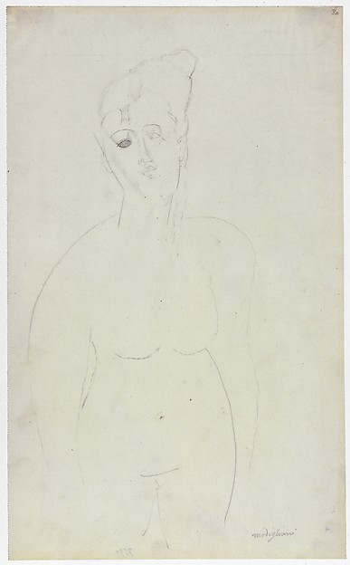 Torso of a Nude Woman