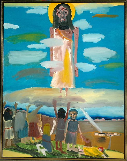 Frederick J. Brown, The Ascension, 1982. Collection of the Metropolitan Museum of Art.
