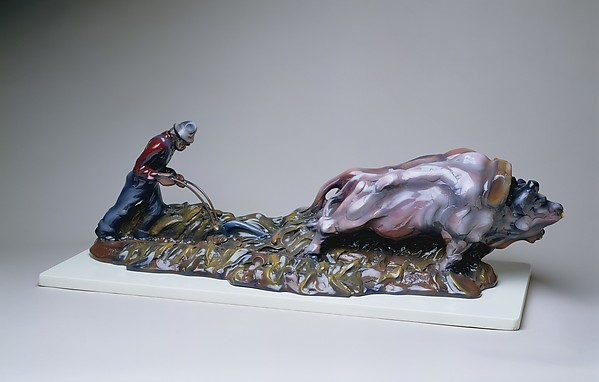 Maquette for Sod Buster