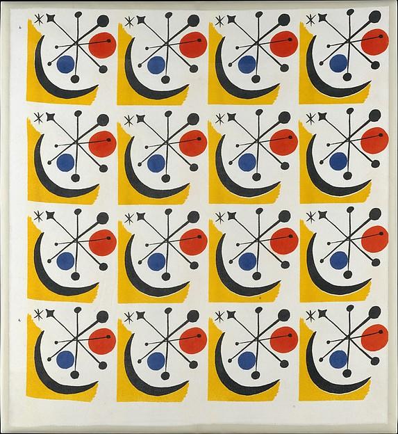 """""""Calder #1"""" Textile (Model No. 1-145)"""