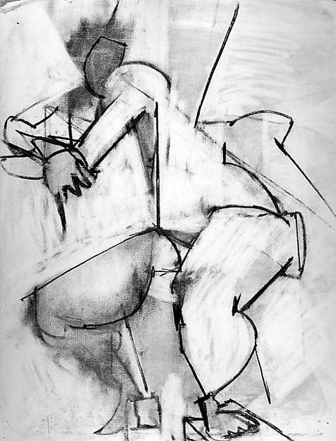 Untitled (female figure study)